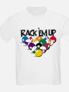 Rack Em Up Pool T-Shirt