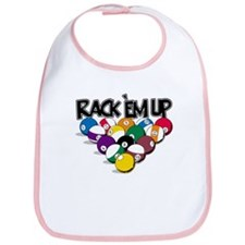 Rack Em Up Pool Bib