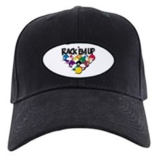 Rack Em Up Pool Baseball Hat