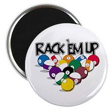 """Rack Em Up Pool 2.25"""" Magnet (100 pack)"""