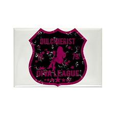 Dulcimerist Diva League Rectangle Magnet