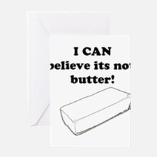 Believe the Butter Greeting Card