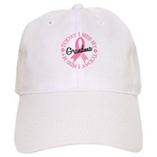 I Miss My Grandma 2 BREAST CANCER Baseball Cap