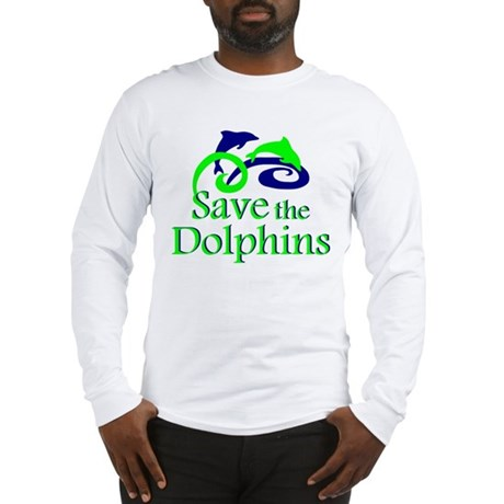 Save the Dolphins Long Sleeve T-Shirt