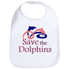 Save the Dolphins Bib