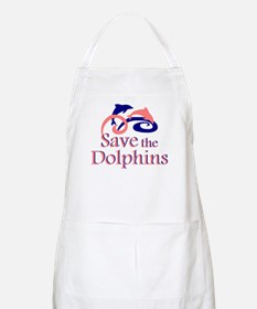 Save the Dolphins BBQ Apron
