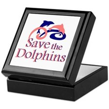 Save the Dolphins Keepsake Box