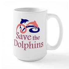Save the Dolphins Mug