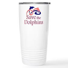 Save the Dolphins Travel Mug