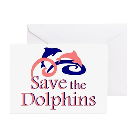 Save the Dolphins Greeting Cards (Pk of 20)