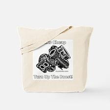 Nemesis Racing - Talks Cheap - Turbo Tote Bag