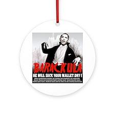 Obama Blood Sucking Socialist Ornament (Round)