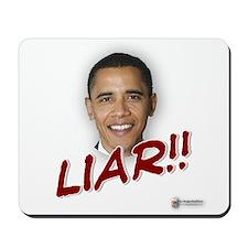 Obama liar Mousepad