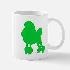 Poodle St. Patty's Day Mug