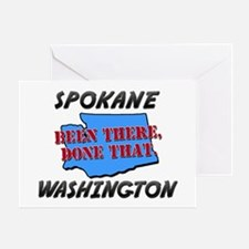 spokane washington - been there, done that Greetin