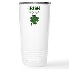 Irish St Joseph Travel Mug