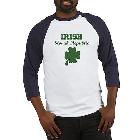 Irish Slovak Republic Baseball Jersey