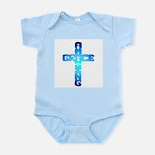 Amazing Grace Cross Infant Creeper