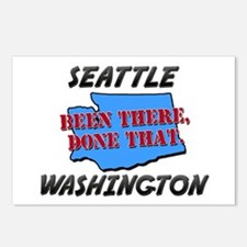 seattle washington - been there, done that Postcar