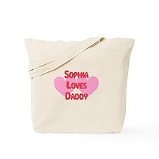 Sophia Loves Daddy Tote Bag