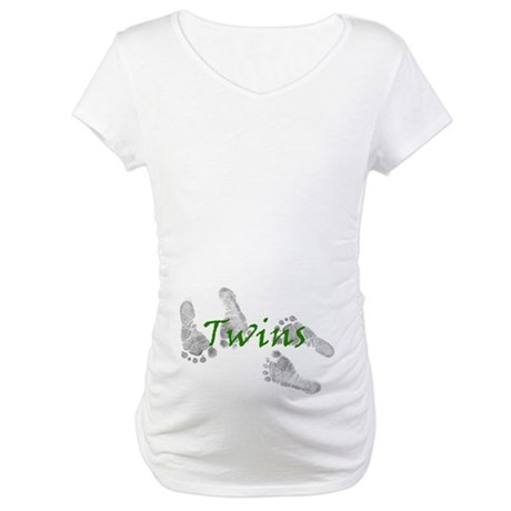 Twinprints Maternity T-Shirt
