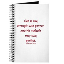 GOD IS MY STRENGTH Journal