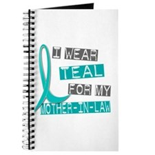 I Wear Teal For My Mother-In-Law 37 Journal