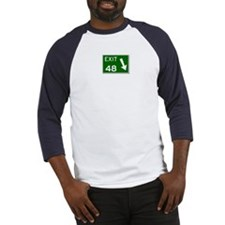 EXIT 48 Baseball Jersey