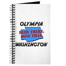 olympia washington - been there, done that Journal