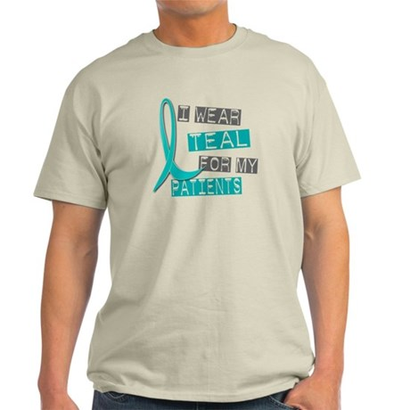 I Wear Teal For My Patients 37 Light T-Shirt
