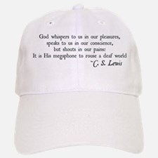 God Shouts in our Pain Baseball Baseball Cap