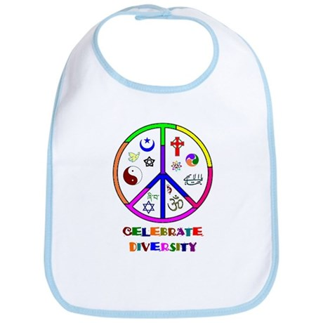 Celebrate Diversity Bib