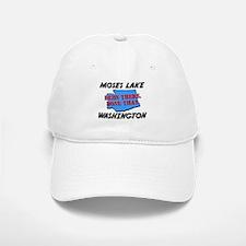 moses lake washington - been there, done that Baseball Baseball Cap