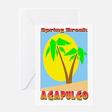 Spring Break Acapulco Greeting Card