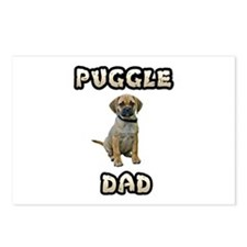 Puggle Dad Postcards (Package of 8)