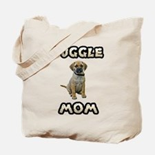Puggle Mom Tote Bag