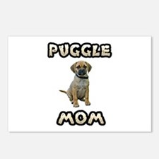 Puggle Mom Postcards (Package of 8)