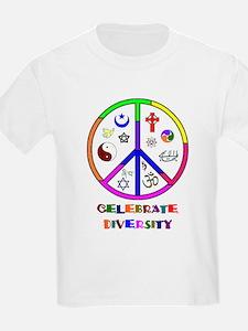 Koy's Logo + Diversity Kids T-Shirt