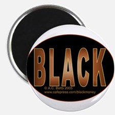 "Black 2.25"" Magnet (10 pack)"
