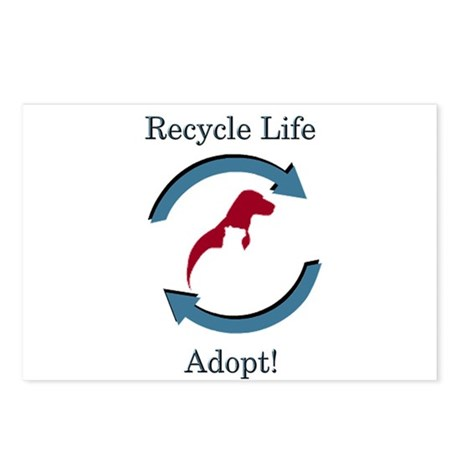 Recycle Life - Postcards (Package of 8)
