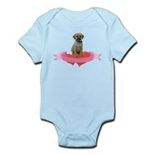 Puggle Valentine Infant Bodysuit