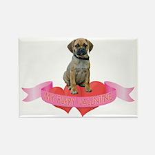 Puggle Valentine Rectangle Magnet