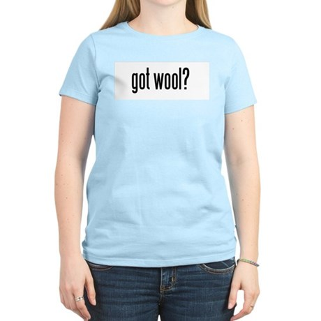 got wool? Women's Pink T-Shirt
