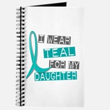 I Wear Teal For My Daughter 37 Journal