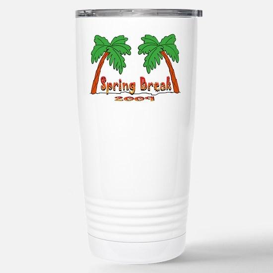 Spring Break 2009 Stainless Steel Travel Mug