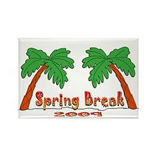 Spring Break 2009 Rectangle Magnet