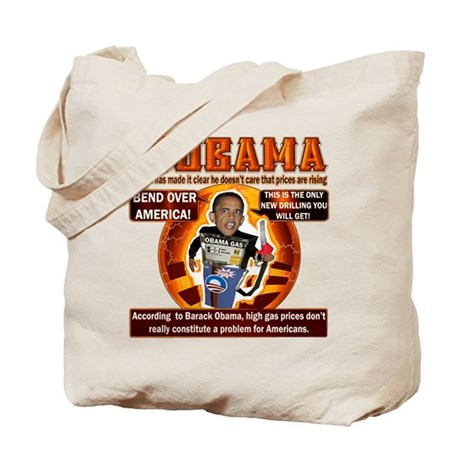 Nobama on gas Tote Bag