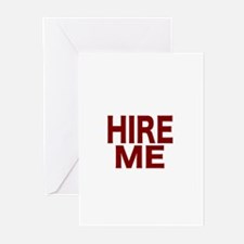 Hire Me Greeting Cards (Pk of 10)