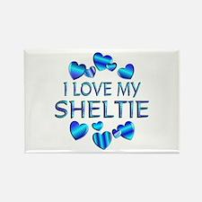 Sheltie Rectangle Magnet (10 pack)