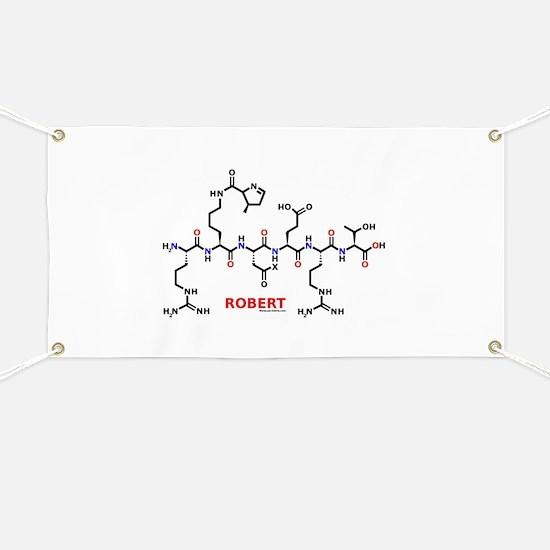 Robert name molecule Banner